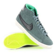 dad666d68a45b Nike Blazer Mid Vintage Teal Youths Trainers  Amazon.co.uk  Shoes   Bags