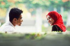 Malaysian Muslim couple