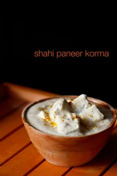 mughlai shahi paneer korma recipe - royal and delicately flavored paneer korma with a white gravy.