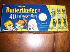 Vintage Halloween candy box
