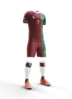 Fluminense DryWorld Kit Home Away Third Retro Concept 118f670749449