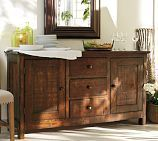 Benchwright Buffet, Rustic Mahogany stain - Ordered and heading to our house soon!