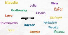Jakie imiona zostawiły ślad na Twoim życiu?