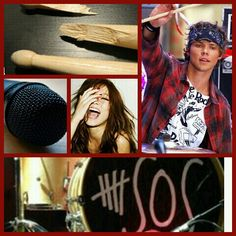 """Ashton was in the recording booth singing his short solo in the new album when you decided to play with his drum kit. You grabbed the first pair of sticks you saw and began hitting them on the drums and symbols. You were making up you own beats and singing random things to them when Michael walked up. """"I wouldnt be on there if i were you. He dosent let anyone use those."""" """"Im his girlfriend! And c'mon im not gunna break anything!"""" """"Whatever sweetheart but dont come crying to me if you break…"""