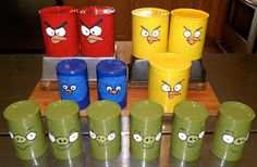 Angry Birds...live! Could be turned into a fun party game