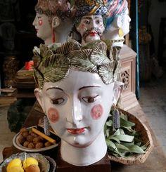 #enero  #cabezasrecipiente  #theexvotos  #ceramics  #decorechic  #PasajeMallol