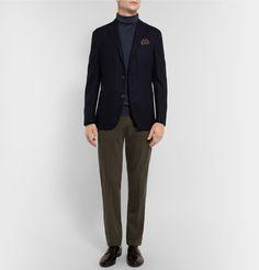 BOGLIOLI Virgin Wool, Silk And Cashmere-Blend Rollneck Sweater