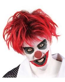 Creepy Clown would be easy to do make-up