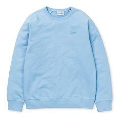 Shop the Carhartt WIP Strike Sweatshirt from the offical online store. Carhartt Wip, Ellesse, Fashion Online, Street Wear, Man Shop, Lady, Sweatshirts, Womens Fashion, Sweaters
