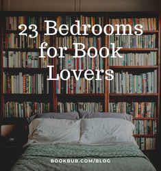 These bedrooms were made for book lovers. #books #bedrooms #booklover Bookshelves, Bookcase, Reading Nook Kids, Library Inspiration, Nook Ideas, Getting Out Of Bed, Cabins In The Woods, Book Nooks, Book Stuff
