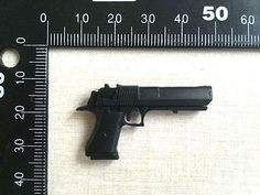 """1/6 Scale Plastic Weapon Gun Model Desert Eagle Pistol Fit 12"""" Action Figure"""