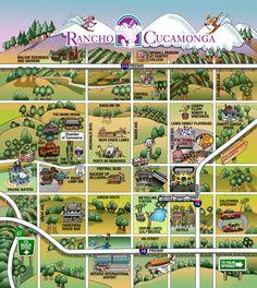 Stan Gorman Rancho Cucamonga fun map.