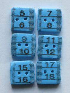 Handmade buttons - Make of the Month September runner-up from Hobbycraft.