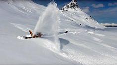 Nå brøytes Norges vakreste vinterveier – se den utrolige videoen - Aftenposten