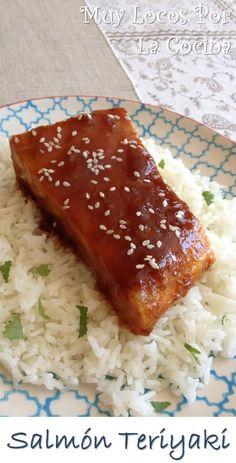 Salmón Teriyaki: Una plato de inspiración japonesa muy fácil de hacer y con un resultado excelente