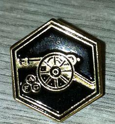 Arsenal - Black Scarf Movement Pin Badge $4.84