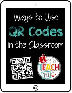 This is a great resource for ideas to incorporate QR codes in the classroom.  Some of the ways she talks about are scavenger hunts, self-check, QR code listening center, etc.  A lot of the activities she brings up promotes independence among her students.