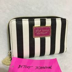 Betsey Johnson Striped Bifold Wallet - 44% Off Retail - Tradesy