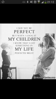 lovely mother and child quote