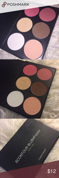Coastal scents contour-blush palette Coastal scents contour-blush palette - 6 shades - practically new Makeup Blush