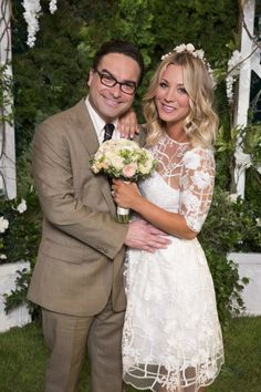 Penny's Wedding Dress on The Big Bang Theory | POPSUGAR Fashion
