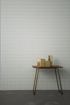 Tile size & position, color grey - ferm living at houseandhold.com