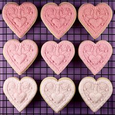 Fondant cookie molds by Bakerella