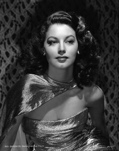 Ava Gardner by Clarence Sinclair Bull, 1940s