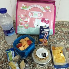 Back to School with #snaphappybritmums it's been almost 3 years since I made my last school lunch box for my then 14 year old. I'm now making lunch boxes daily but for me this time as I started my new job as a FS1 Teacher today. (Yes it's Sunday but I'm living in Dubai) by chickenruby