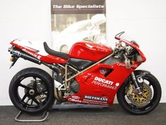 Ducati 916 SPS FOGGY REPLICA NUMBER 63 OF 202, 996 Petrol, Manual, Delivery miles, rosso red, 0 doors, 2 owners at The Bike Specialists for £34,980.