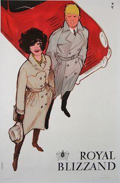 "PG365 ""Royal Blizzand"" Poster by Rene Gruau (1950)"