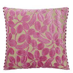 Calaggio Peony Throw Pillow   Designers Guild