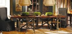 Hancock Large Dining Table - traditional - dining tables - Arhaus