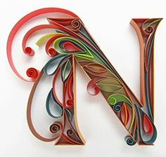 Letter N Quilling                                                                                                                                                                                 More