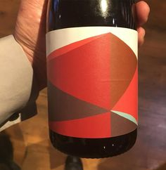 The work of David Band. Even though he passed in 2011, his work In food and wine remains. One of David's last outputs where these colourful works, abstractions of trees, self portrait, landscape. This label for winery Dalwhinnie The Hut range stretches across the entire label.