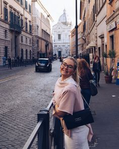 When in Rome, wear all pink.
