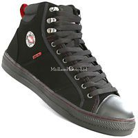 Lee Cooper Steel Toe Cap Baseball Style Safety Boots.Trainers Shoes LC022 *
