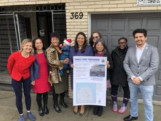 News from the CJP world: SF Mayor London Breed and Supervisor Sandra Lee Fewer held a press conference regarding the purchase of our building from the Mission Economic Development Agency (MEDA)! Hope for housing is here people!