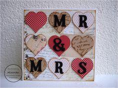 Miranda's Creaties - Mr and Mrs