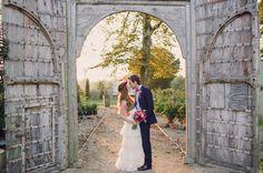 gorgeous spot for a wedding portrait at Terrain