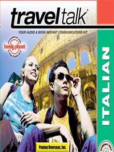 Traveltalk® Italian - TravelTalk presents a simplified language survival system for travelers. Includes audio in both English & target language to help ensure that travelers will arrive and survive ...and enjoy...