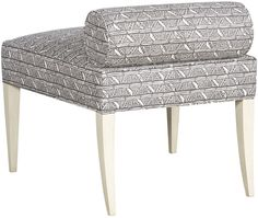 Vanguard Furniture: V931-AC Jensen Armless Chair GUEST BEDROOM STOOL in whatever fabric/finish we choose!