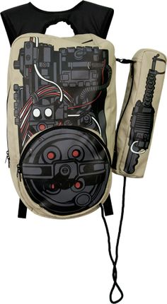 Extremely geeky, but a backpack based on the Ghostbusters proton pack?! You'd be the hit of any party.