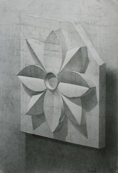 Новости Still Life Sketch, Still Life Drawing, Geometric Drawing, Geometric Art, Drawing Sketches, Pencil Drawings, Perspective Drawing Lessons, Teaching Drawing, Drawing Exercises