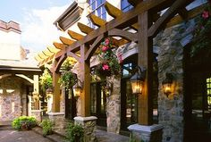 Pepperwood, Utah Luxury Home by Markay Johnson Construction traditional-exterior Tuscan Design, Tuscan Style, Outdoor Rooms, Outdoor Living, Outdoor Decor, Outdoor Ideas, Backyard Ideas, Garden Ideas, Outdoor Topiary
