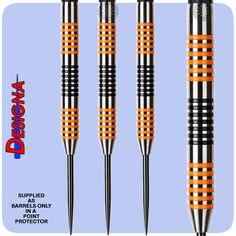 Designa Vampires Darts - Steel Tip Tungsten - Barrels Only in Point Protector - 23g - http://www.dartscorner.co.uk/product_info.php?cPath=9_234_262&products_id=559