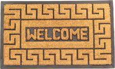 Meandros Coir (Coco) Rubber Welcome Mat