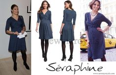 Crown Princess Victoria Wears Seraphine Bubble Print Maternity Dress