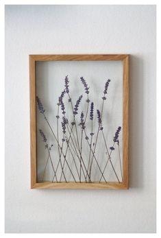 Lavender Art, Pressed Flower Frame by MyBotanica, .You can find Lavender and more on our website.Lavender Art, Pressed Flower Frame by MyBotanica, . Art Floral, Deco Floral, Fleurs Diy, Dry Plants, Indoor Plants, Indoor Outdoor, Outdoor Decor, Pressed Flower Art, Bohemian Interior
