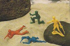 Soldadinhos de Plástico #nostalgia